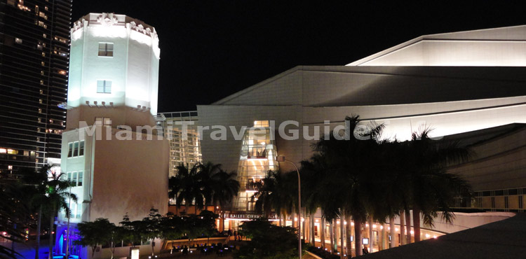 Adrienne Arsht Center Performing Arts  -  Atractions in Miami