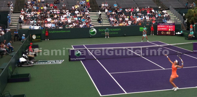 The Sony Ericsson Open